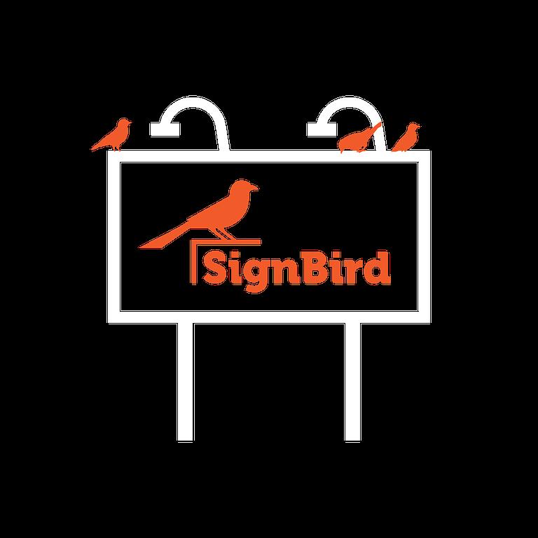 SignBird Billboard Icon