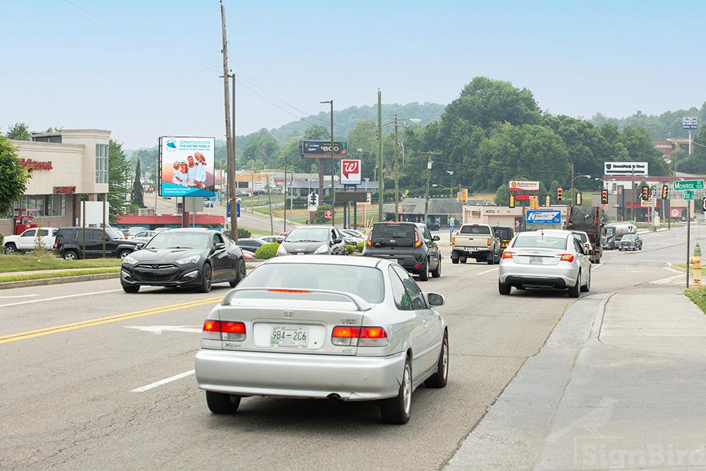 cars on interstate